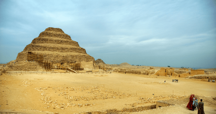 the Necropolis of Sakkara