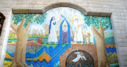 Mural Cairo Copto