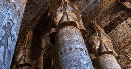 Columnas Templo Denderh