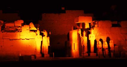 Luz y Sonido en Karnak