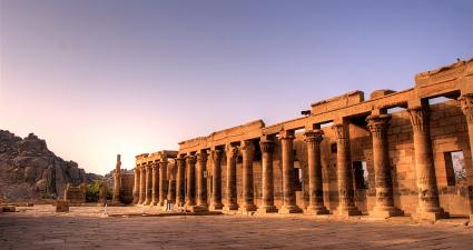 Columnas Templo de Filae