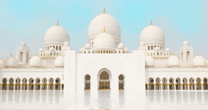 Exterior Mezquita Sheikh Zayed