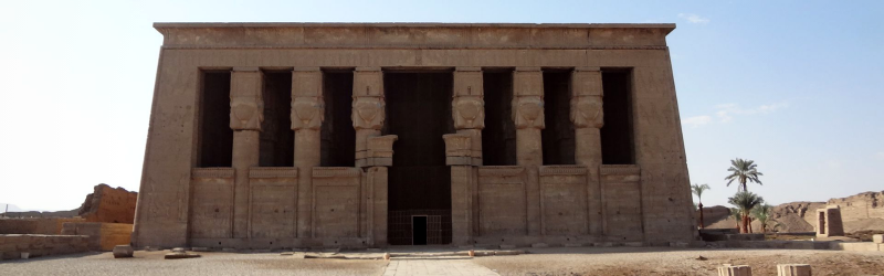 Temples of Denderah & Abydos