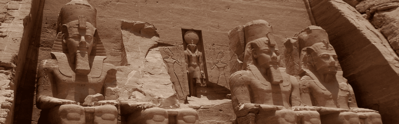 REFLEJOS DE EGIPTO CON ABU SIMBEL