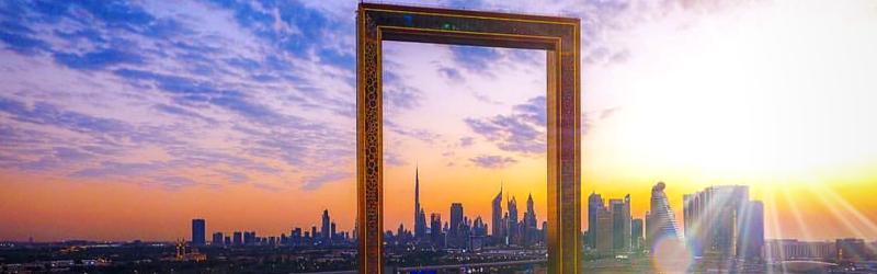 Dubai Clásico con subida al Frame